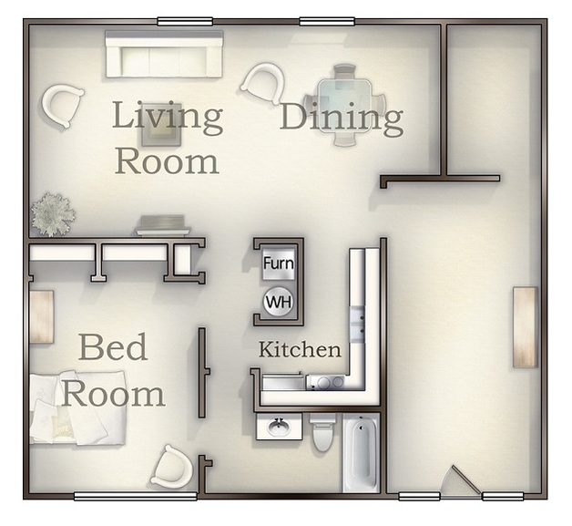 Garden 2nd Floor floor plan